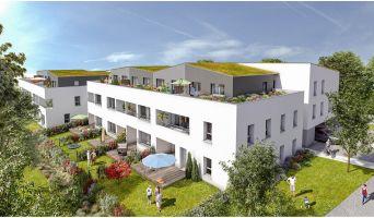 Saint-Herblain : programme immobilier neuf « Les Jardins d'Aby » en Loi Pinel