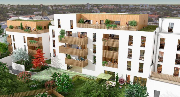 Saint-Herblain programme immobilier neuf « Les Villas Garance