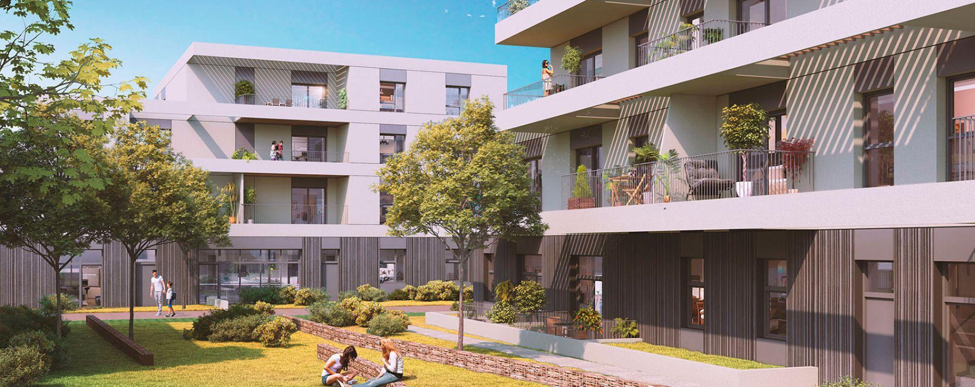 Saint-Herblain : programme immobilier neuve « L'Héritage » en Loi Pinel