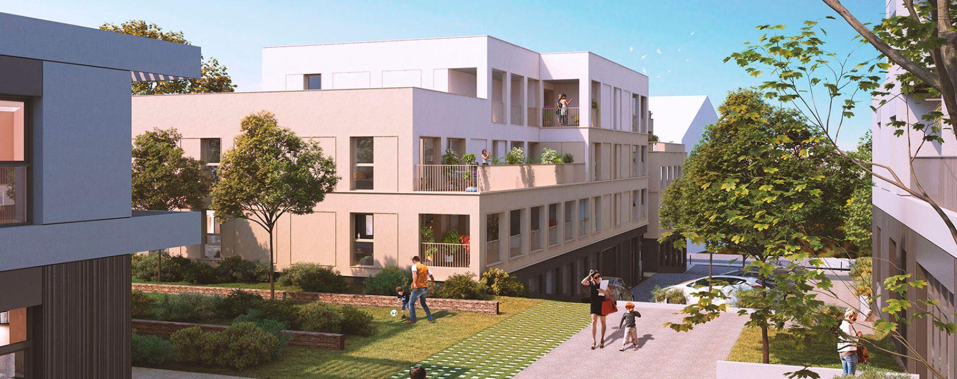 Saint-Herblain : programme immobilier neuve « L'Héritage » en Loi Pinel (2)