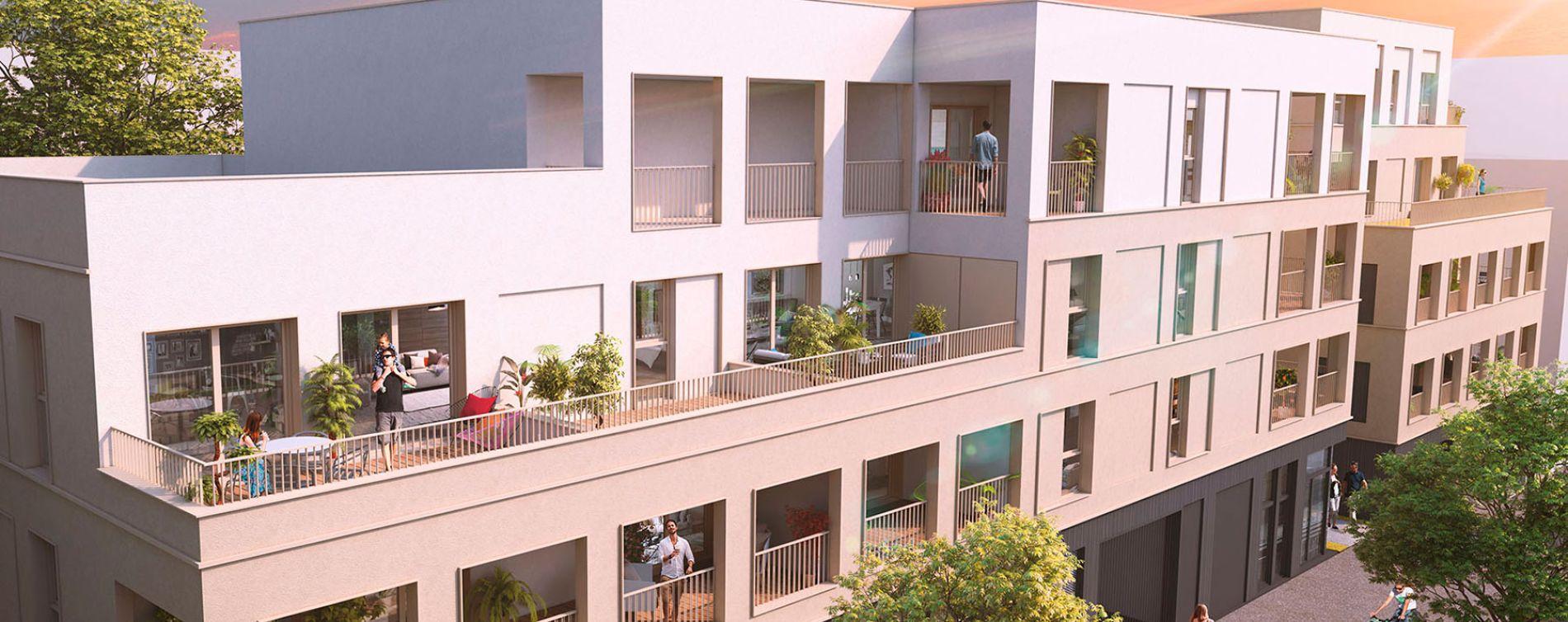 Saint-Herblain : programme immobilier neuve « L'Héritage » en Loi Pinel (3)