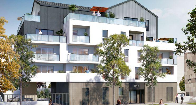 Photo du Résidence « Link » programme immobilier neuf en Loi Pinel à Saint-Herblain