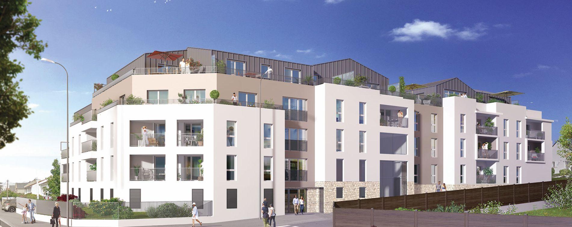 Saint-Herblain : programme immobilier neuve « New Corner » en Loi Pinel
