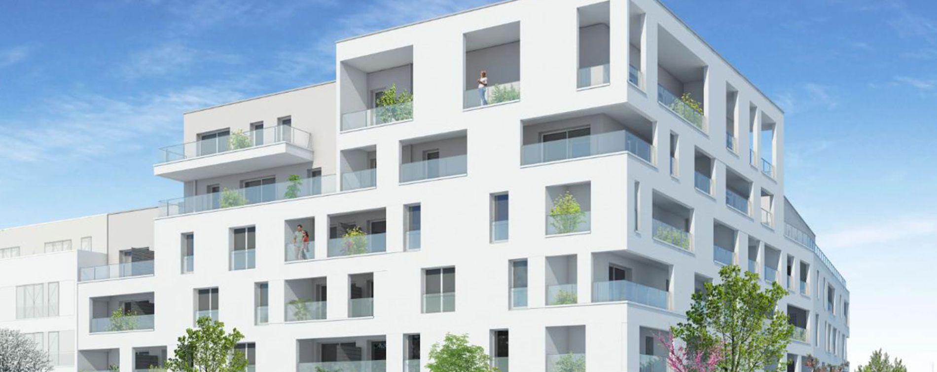 Saint-Nazaire : programme immobilier neuve « Côté A » en Loi Pinel