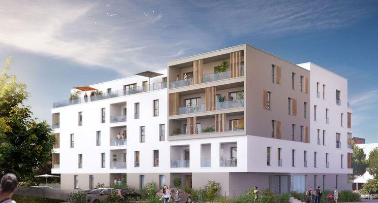Résidence « La Promenade » programme immobilier neuf en Loi Pinel à Saint-Nazaire n°1