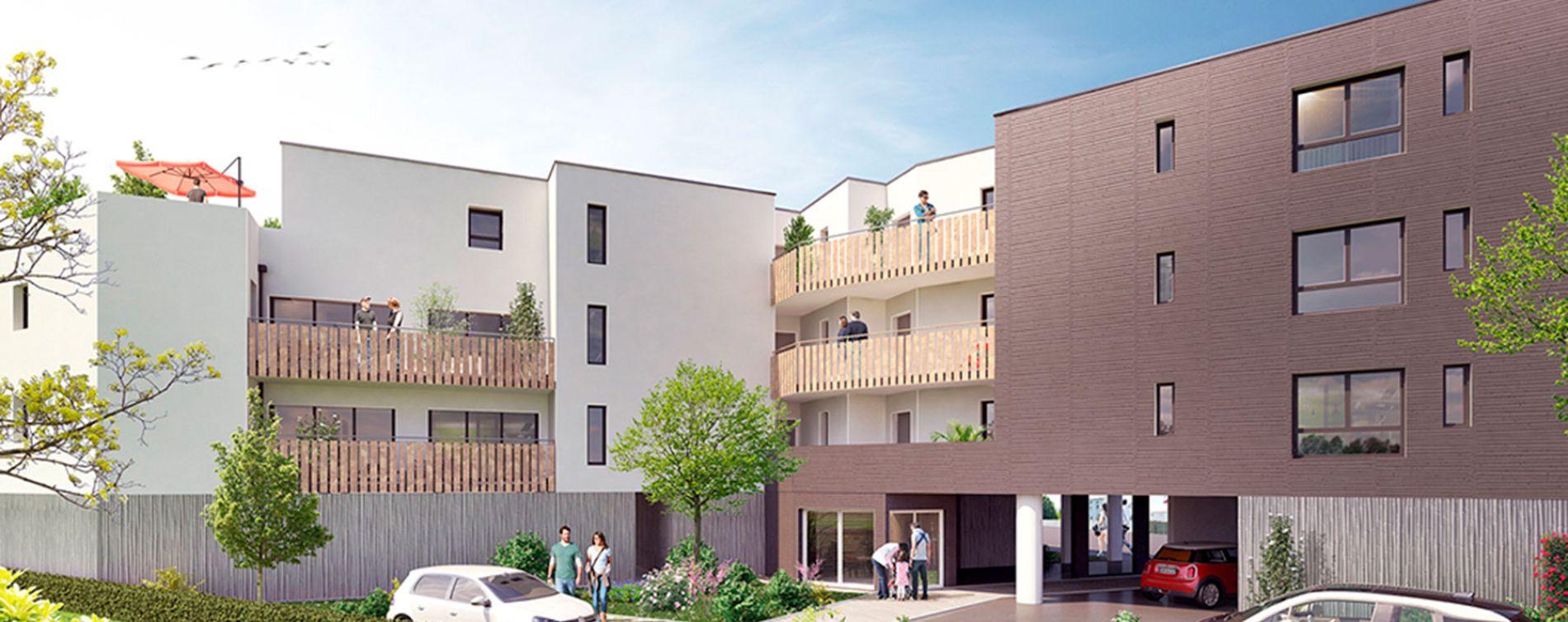 Saint-Nazaire : programme immobilier neuve « Le Clos de la Seignerie » en Loi Pinel