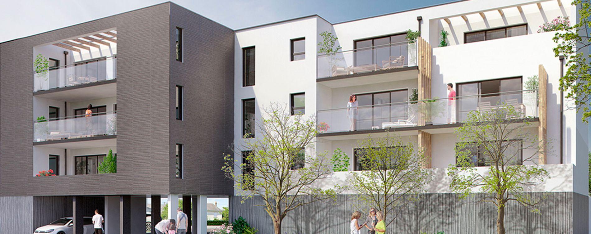 Saint-Nazaire : programme immobilier neuve « Le Clos de la Seignerie » en Loi Pinel (2)