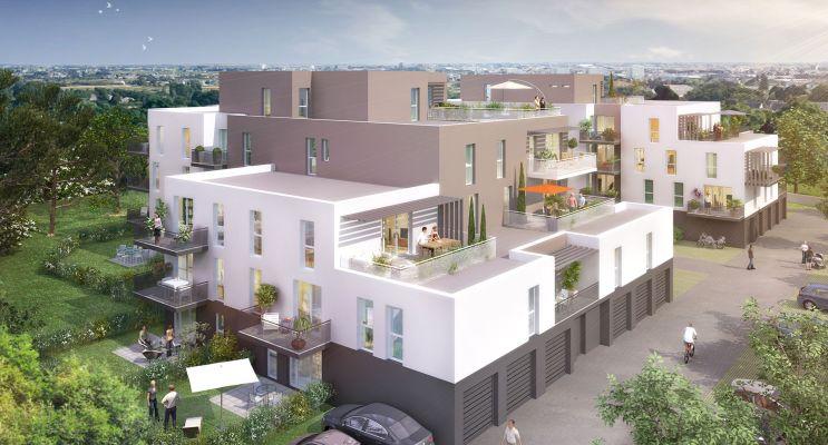 Photo du Résidence « Les Terrasses Boisées » programme immobilier neuf à Saint-Nazaire