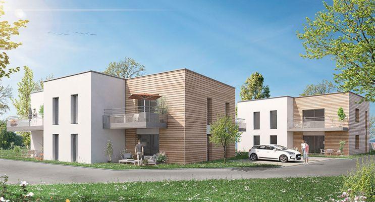 Photo du Résidence « Les Villas de Crépelet » programme immobilier neuf en Loi Pinel à Saint-Nazaire