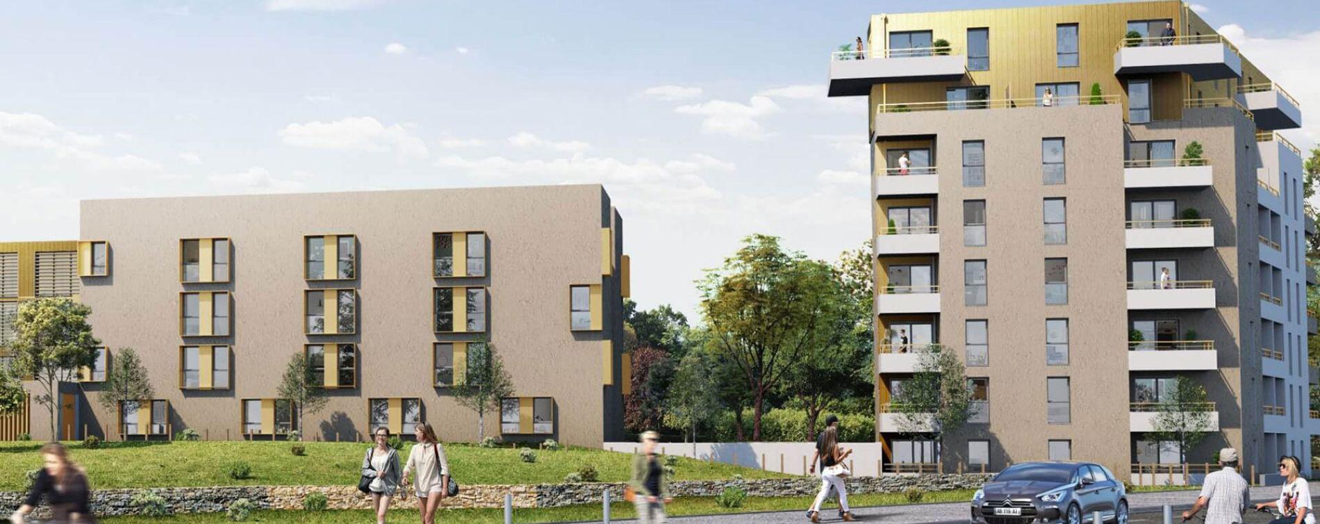 Saint-Nazaire : programme immobilier neuve « Michel Ange »