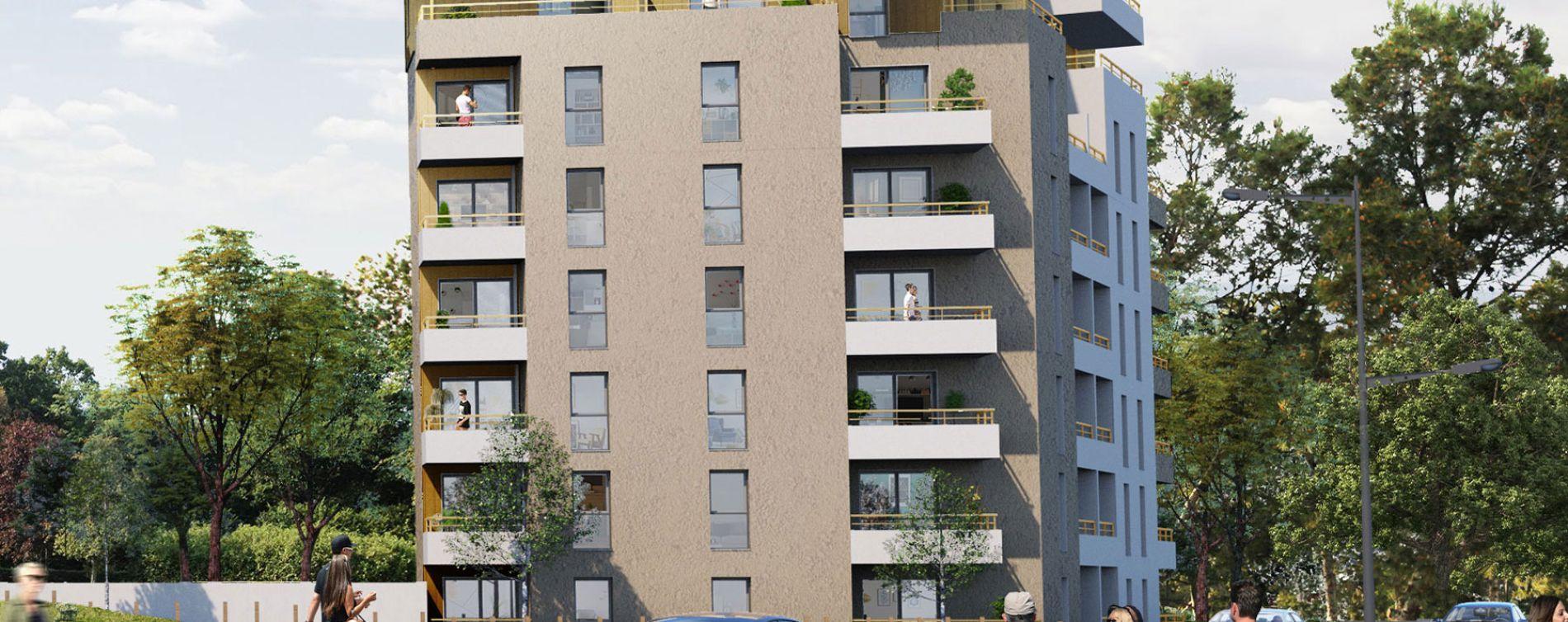 Saint-Nazaire : programme immobilier neuve « Michel Ange » (2)
