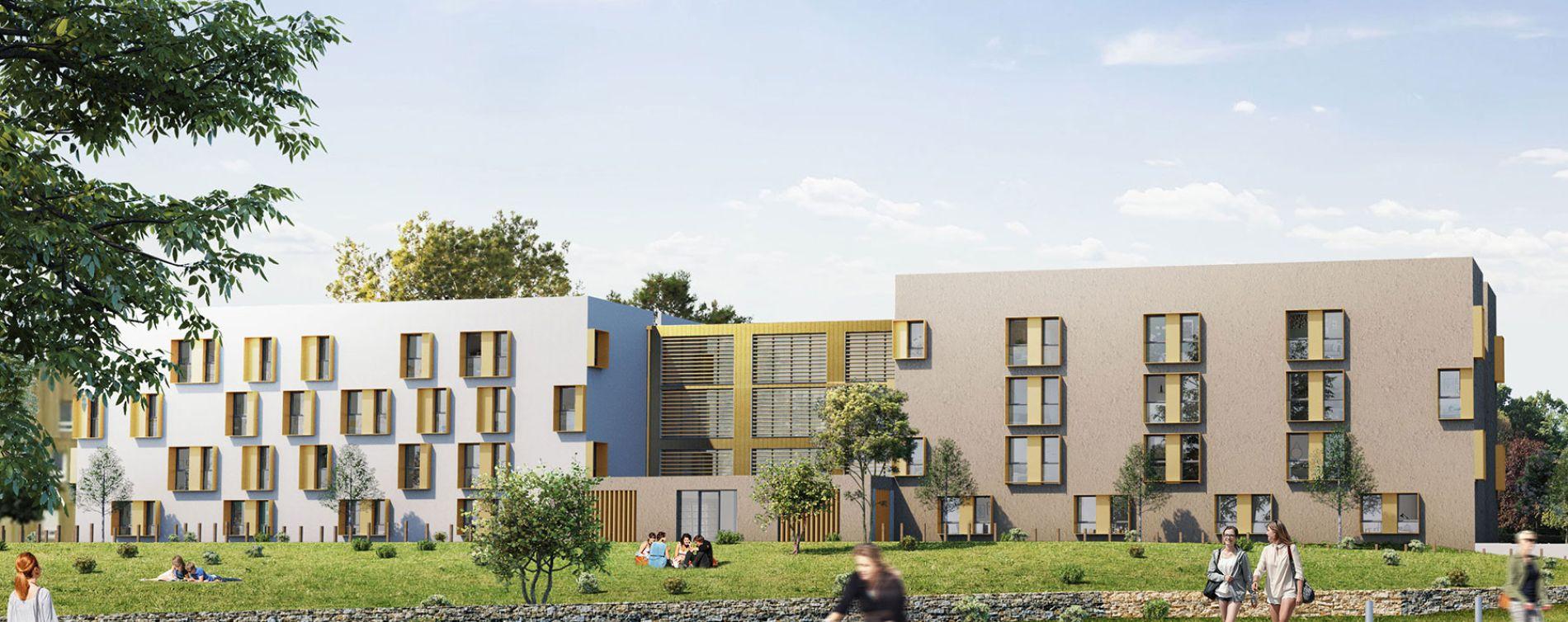 Saint-Nazaire : programme immobilier neuve « Michel Ange » (3)