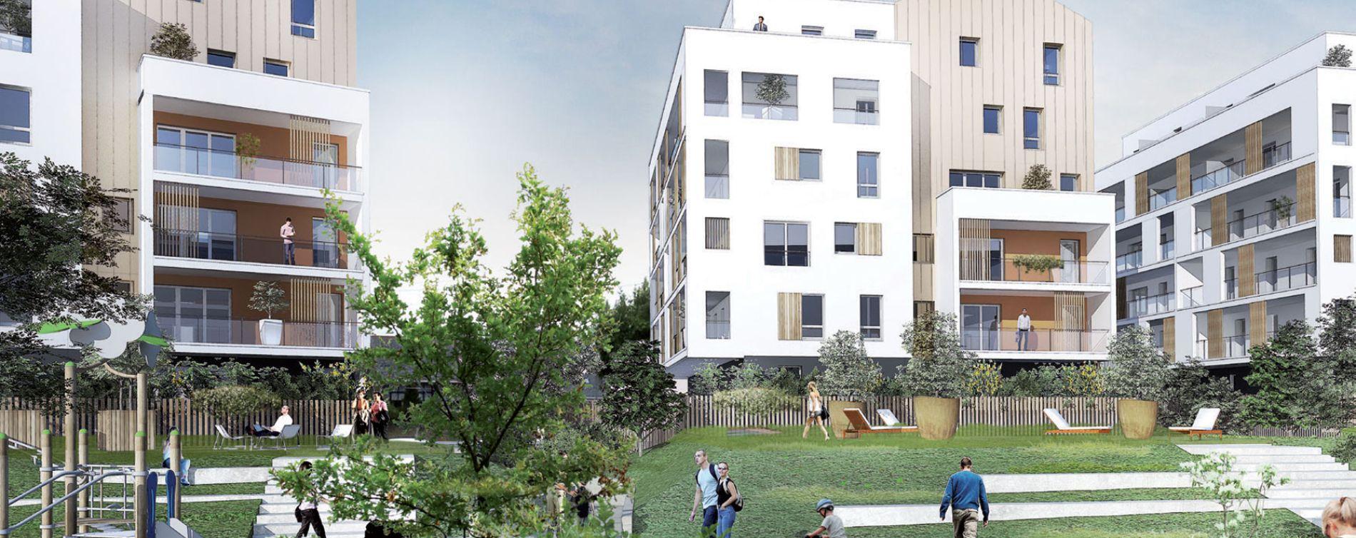 Saint-Nazaire : programme immobilier neuve « Sun Park »