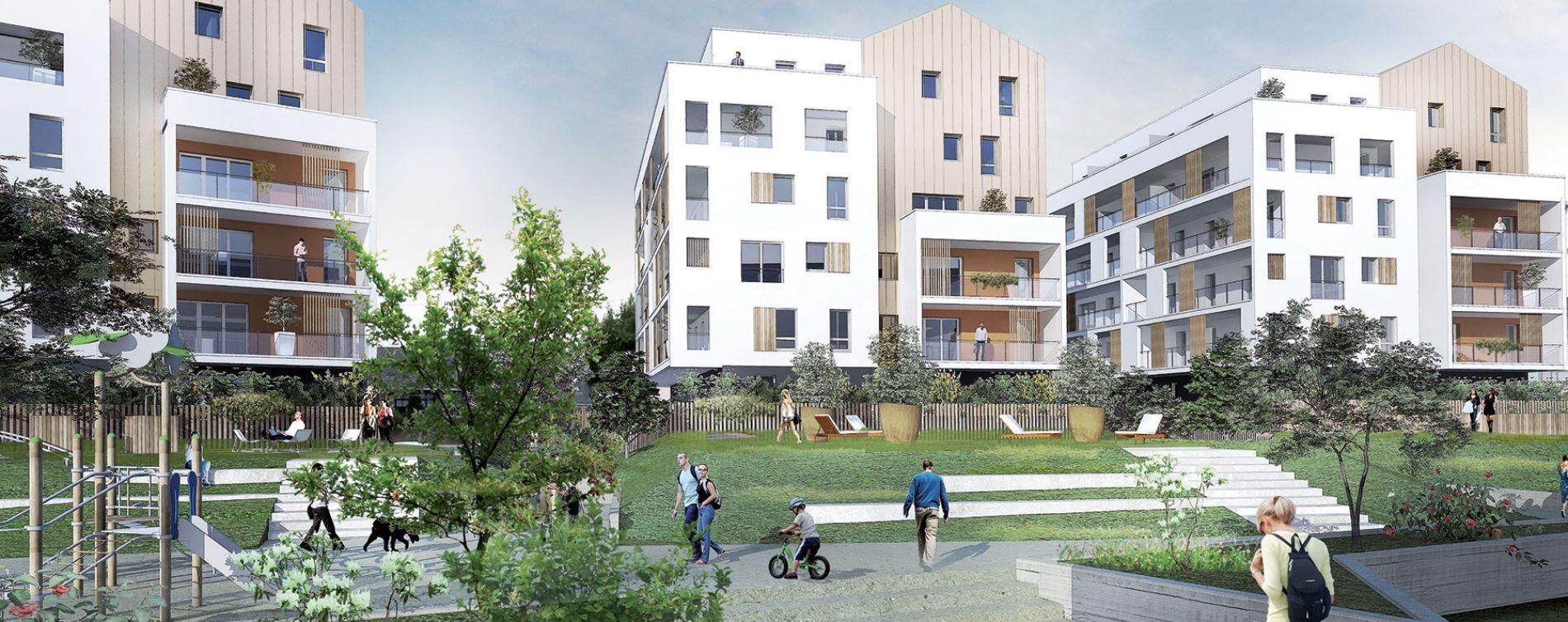 Saint-Nazaire : programme immobilier neuve « Sun Park » (2)