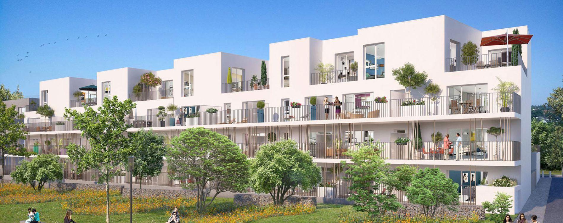 Saint-Nazaire : programme immobilier neuve « Terre d'Escale »