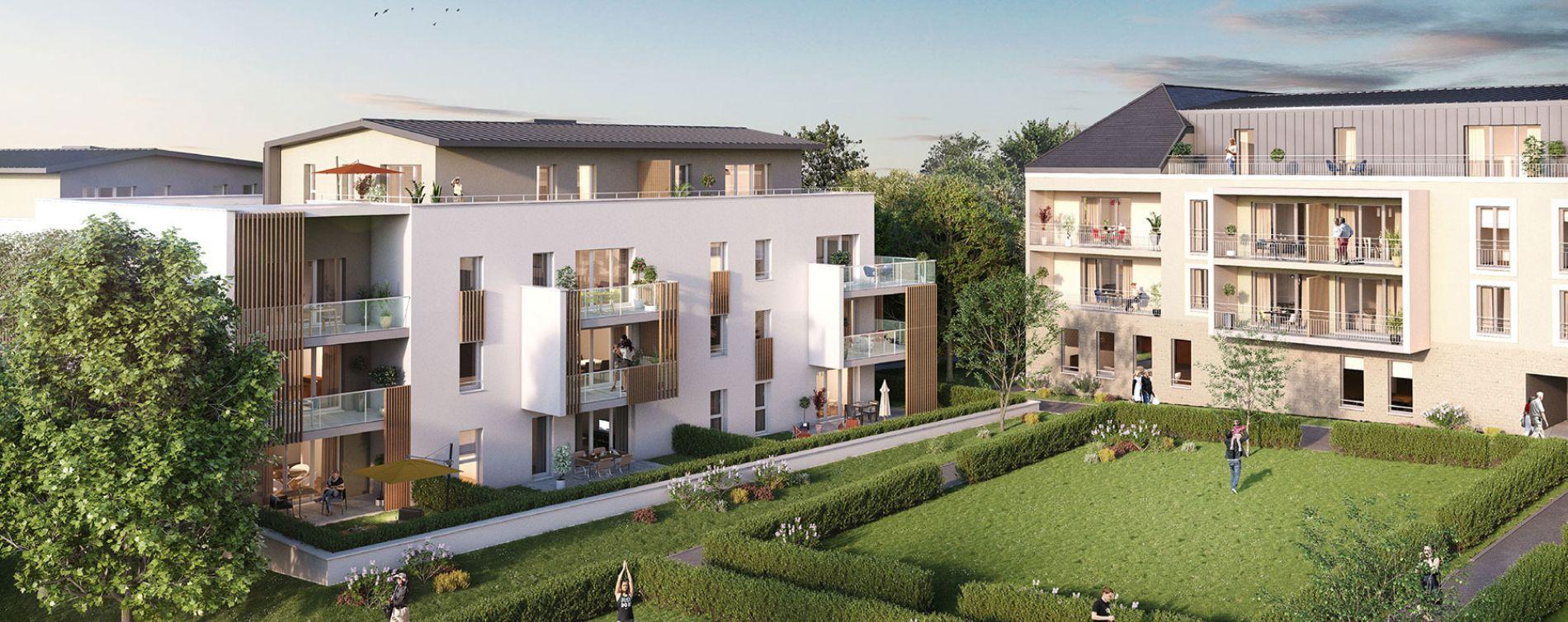 Saint-Philbert-de-Grand-Lieu : programme immobilier neuve « Le Clos Saint François »