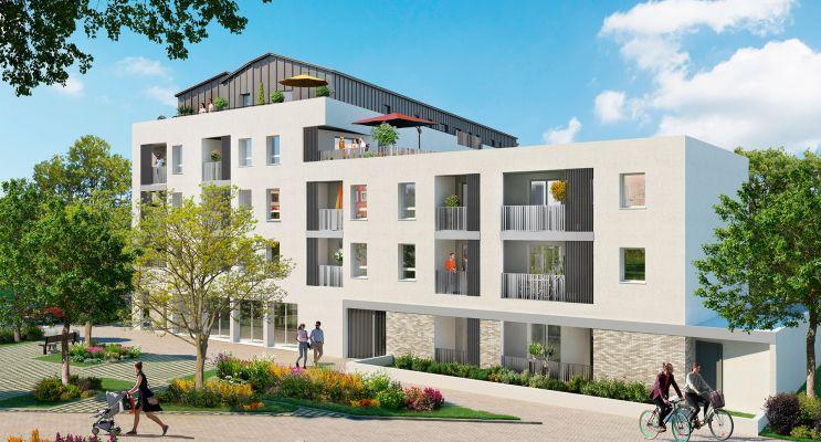 Photo du Résidence « Le Domaine des Ouches » programme immobilier neuf en Loi Pinel à Saint-Sébastien-sur-Loire