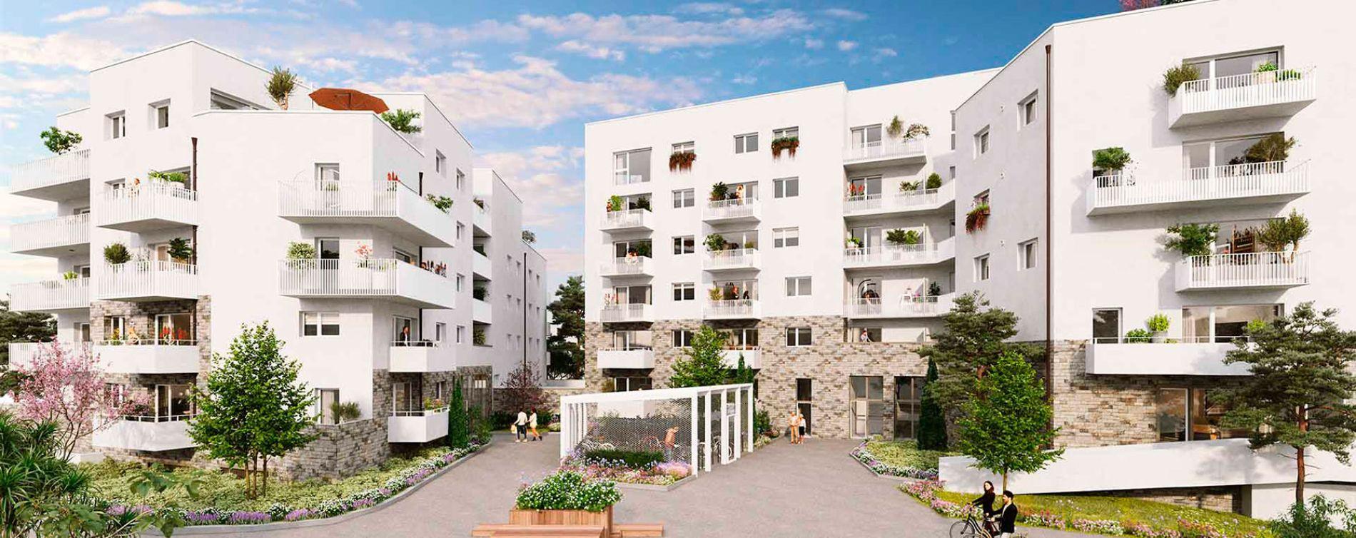 Saint-Sébastien-sur-Loire : programme immobilier neuve « Les Jardins de la Jaunaie » en Loi Pinel
