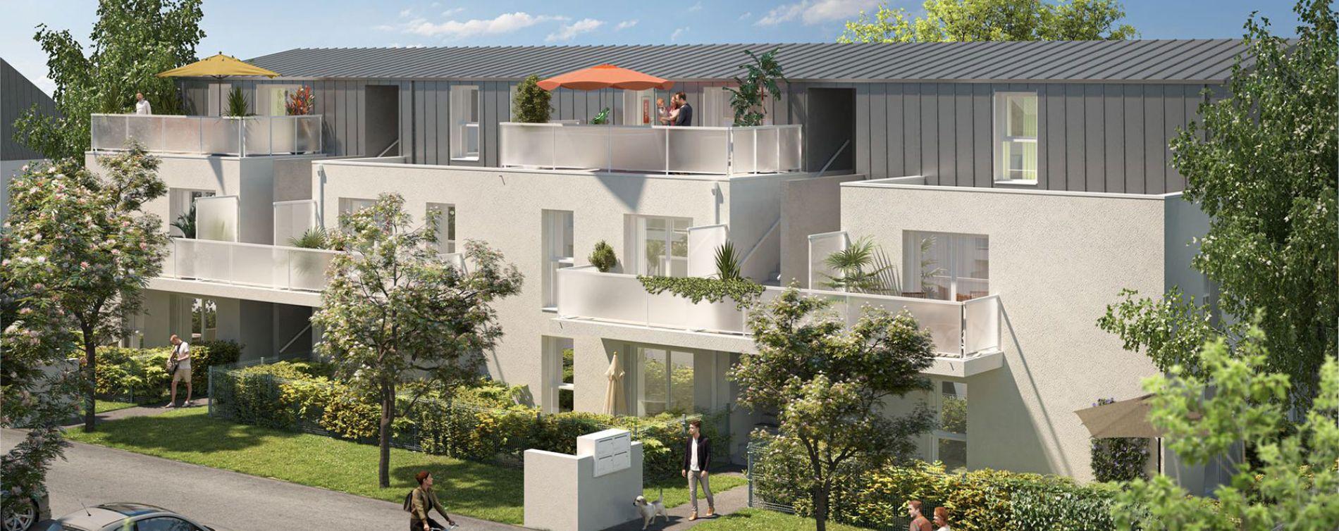 Sainte-Luce-sur-Loire : programme immobilier neuve « Les Rives de Luce » en Loi Pinel