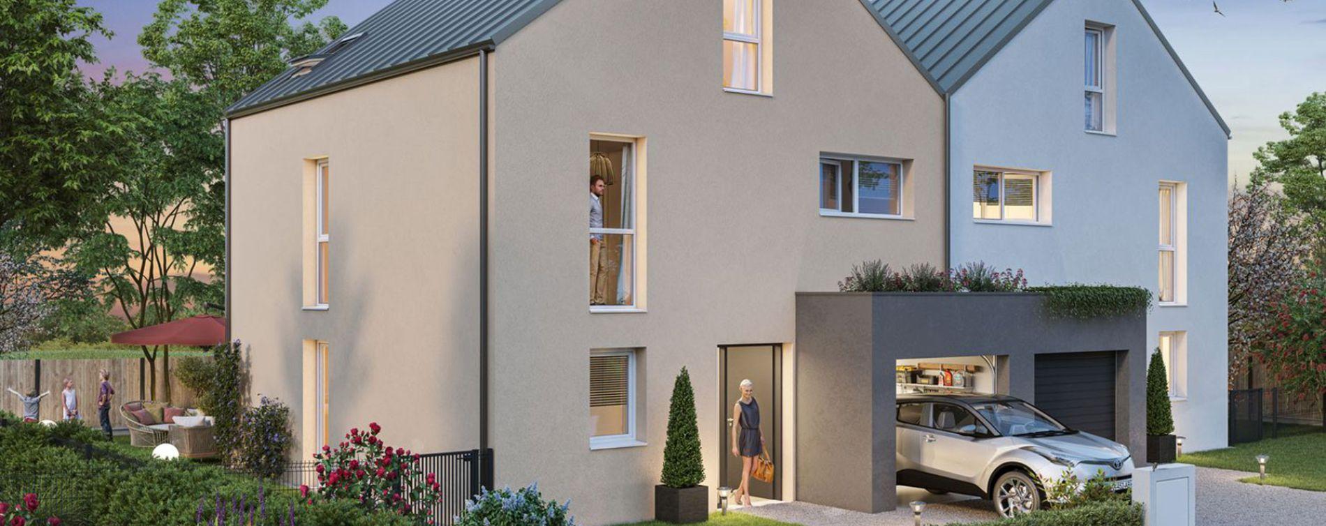 Sainte-Luce-sur-Loire : programme immobilier neuve « Les Rives de Luce » en Loi Pinel (2)