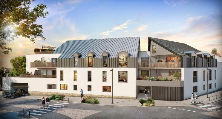 Photo du Résidence « Éloge » programme immobilier neuf en Loi Pinel à Sautron