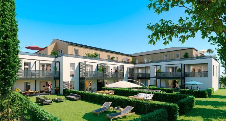 Photo du Résidence « Jardins Authentiques II » programme immobilier neuf en Loi Pinel à Sautron