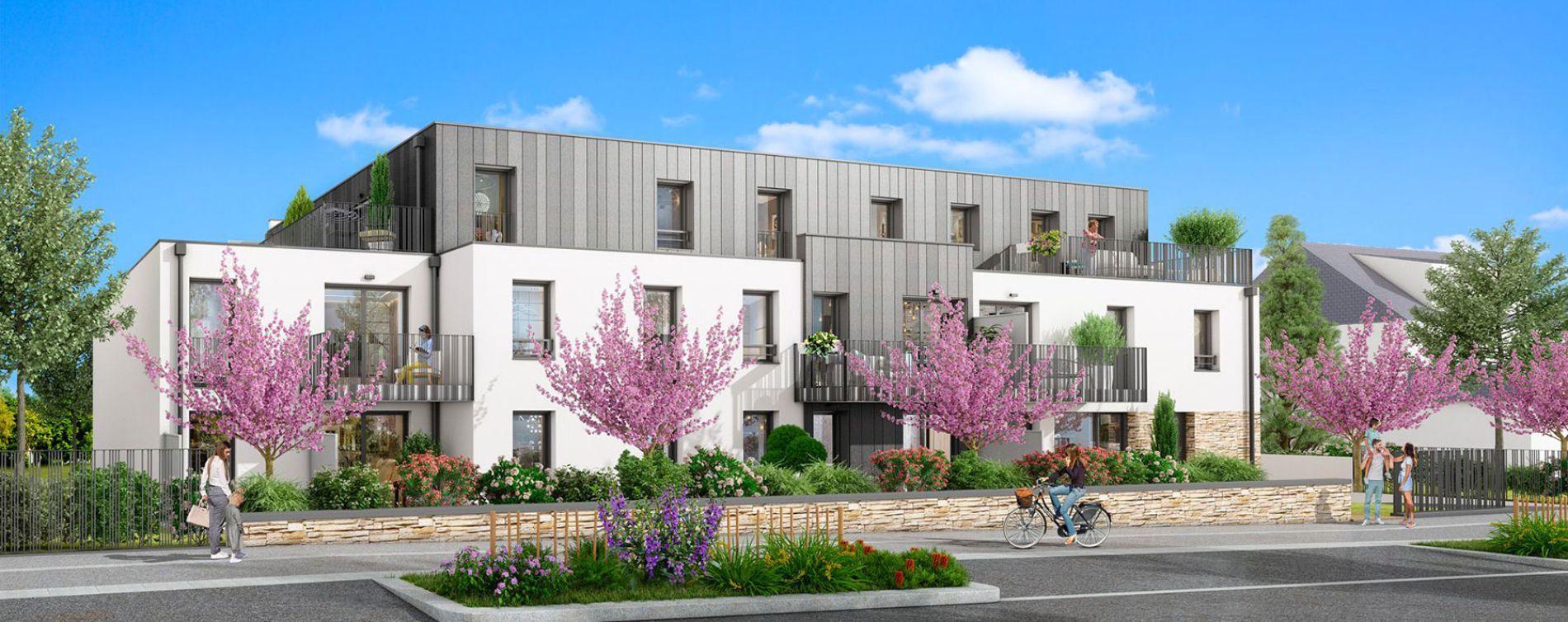 Sautron : programme immobilier neuve « La Rivière » en Loi Pinel