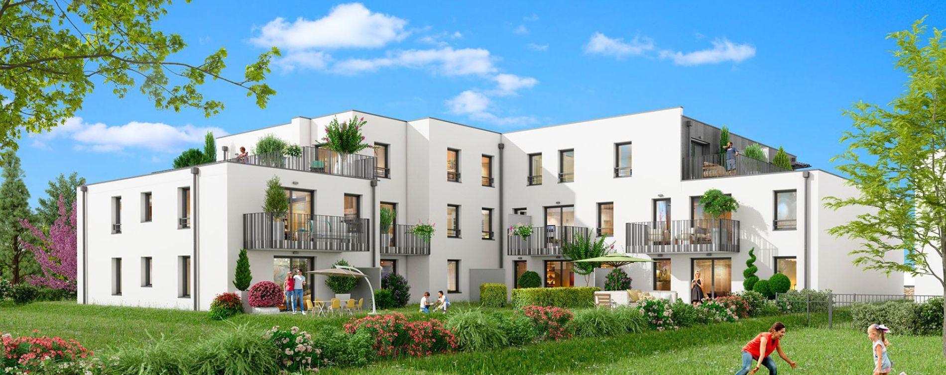 Sautron : programme immobilier neuve « La Rivière » en Loi Pinel (2)