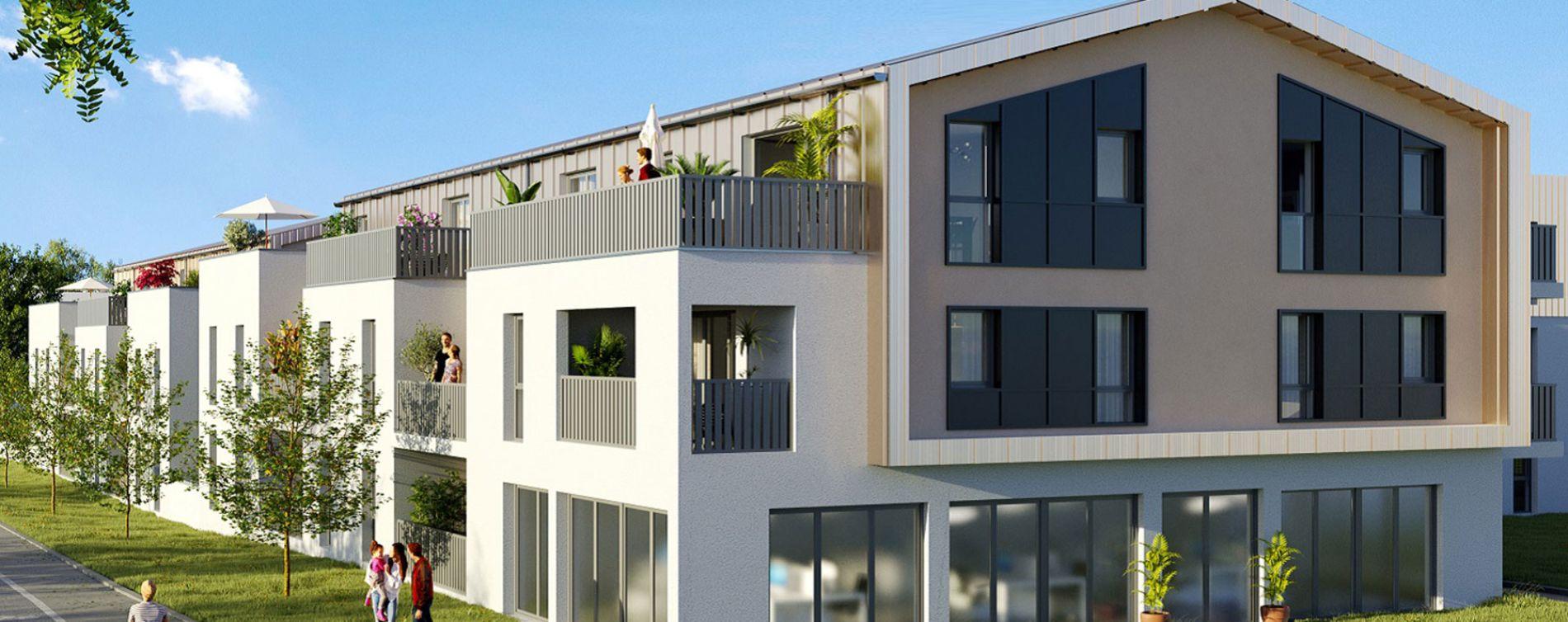 Sautron : programme immobilier neuve « Les Hauts de Brimberne » en Loi Pinel