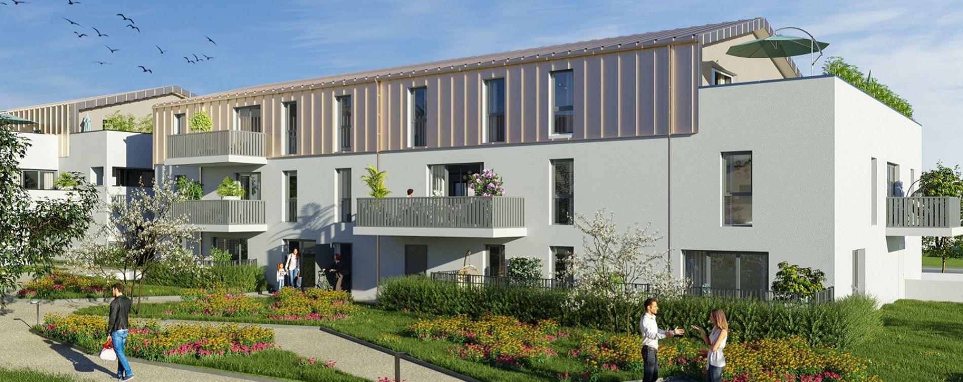 Sautron : programme immobilier neuve « Les Hauts de Brimberne » en Loi Pinel (2)