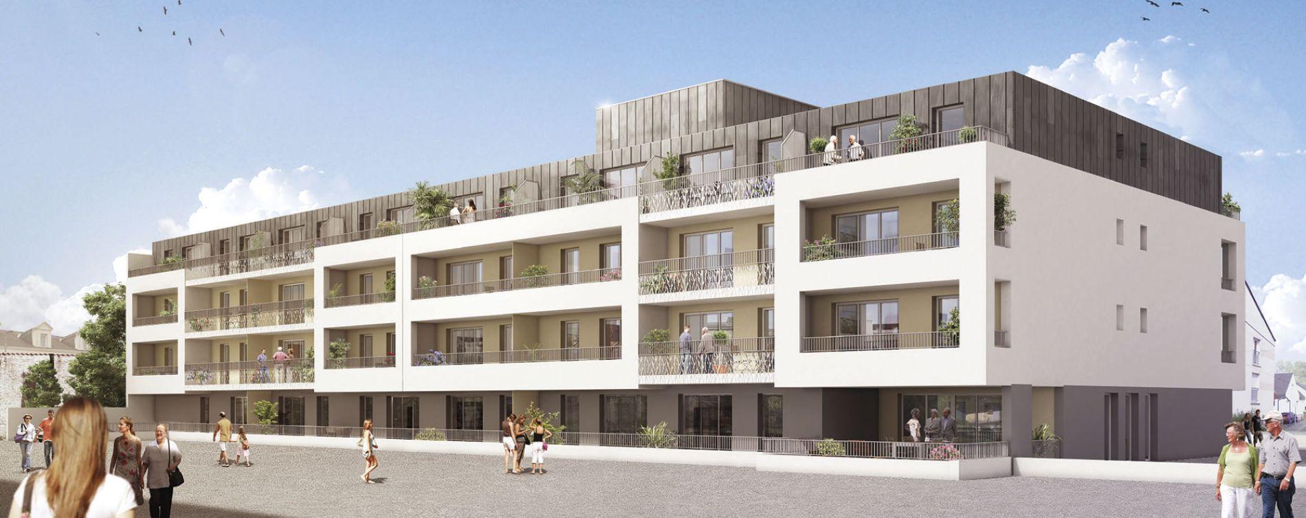 Thouaré-sur-Loire : programme immobilier neuve « Amelys »