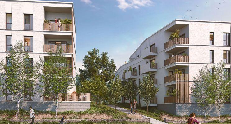 Vertou programme immobilier neuf « L'Aroma d'Ewen » en Loi Pinel