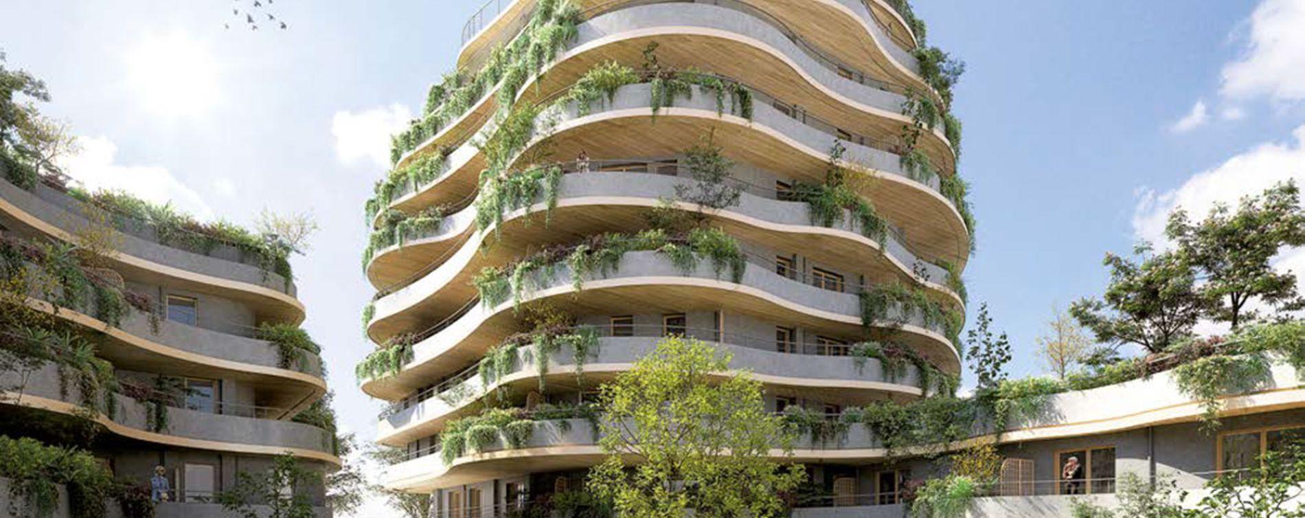 Angers : programme immobilier neuve « Arborescence » en Loi Pinel (2)