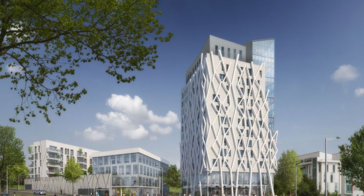 Angers : programme immobilier neuf « Campus Novus »