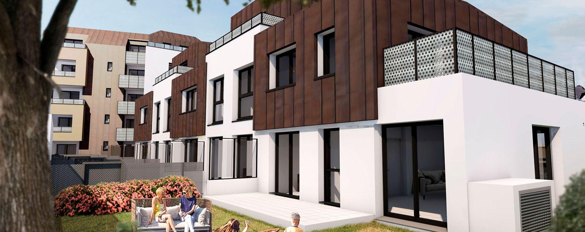 Angers : programme immobilier neuve « Carré Verde » en Loi Pinel