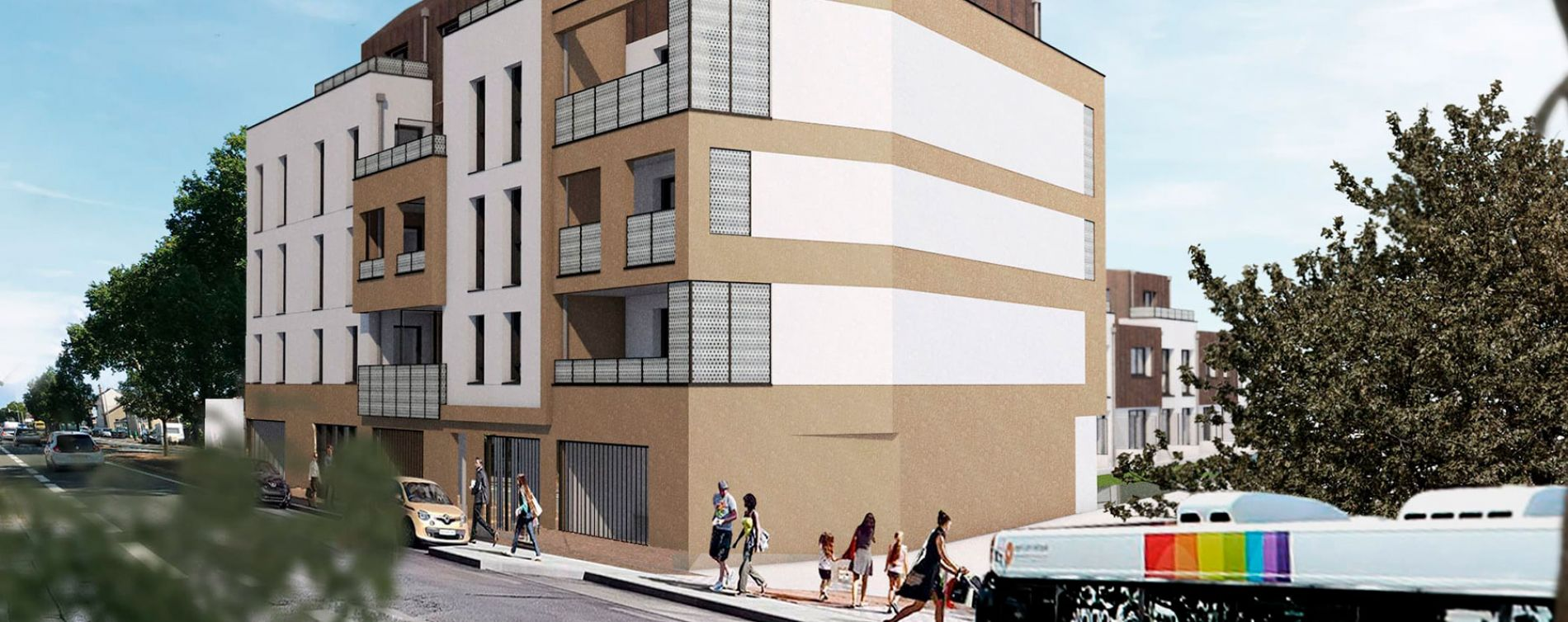Angers : programme immobilier neuve « Carré Verde » en Loi Pinel (2)