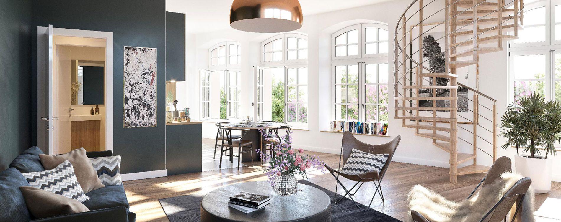 Angers : programme immobilier neuve « Clos Vauvert Hôtel » (3)