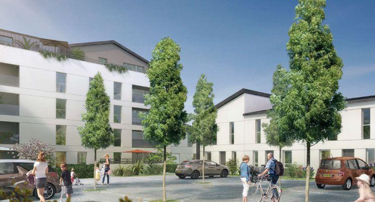 Résidence « Confidence » programme immobilier neuf en Loi Pinel à Angers n°2