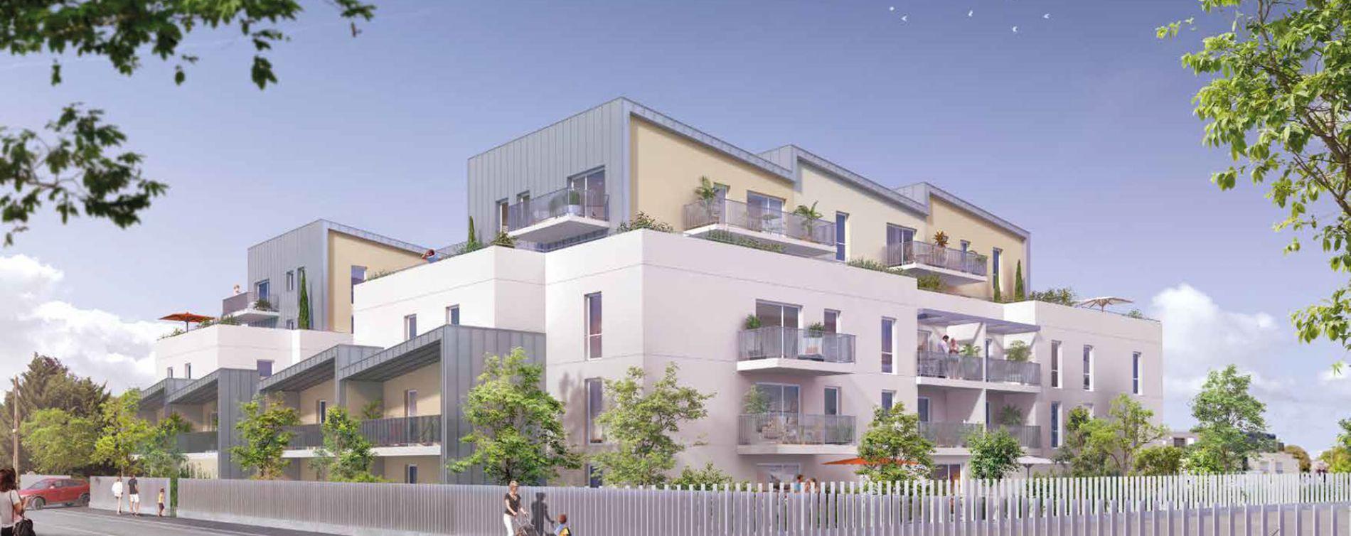Angers : programme immobilier neuve « Fabrik » en Loi Pinel