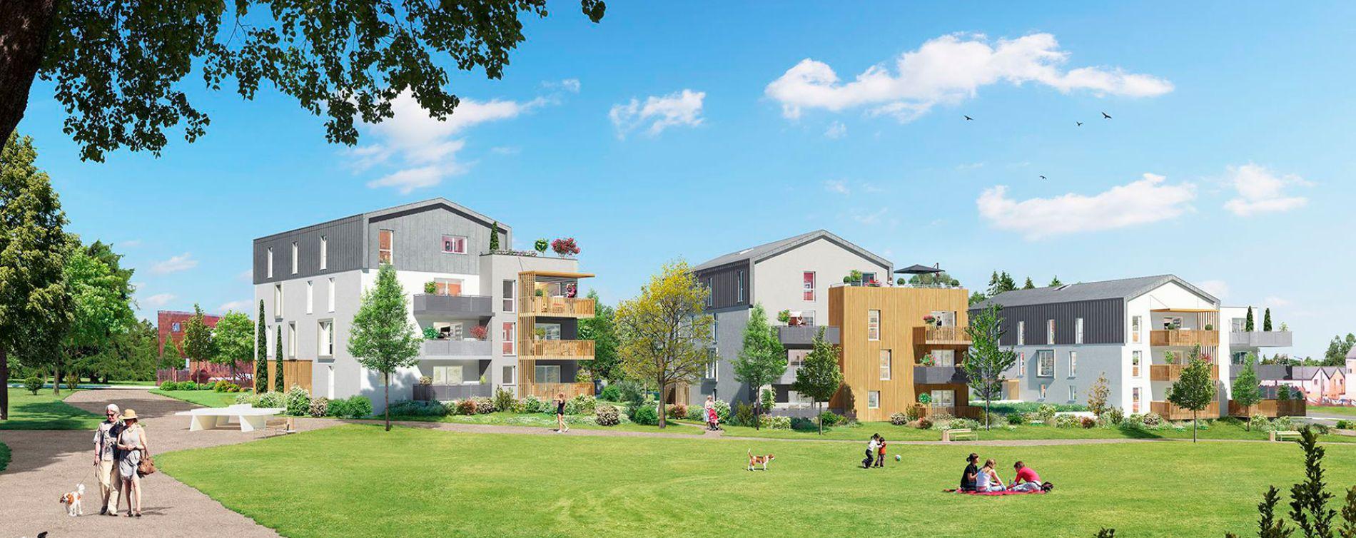 Angers : programme immobilier neuve « Green Parc »