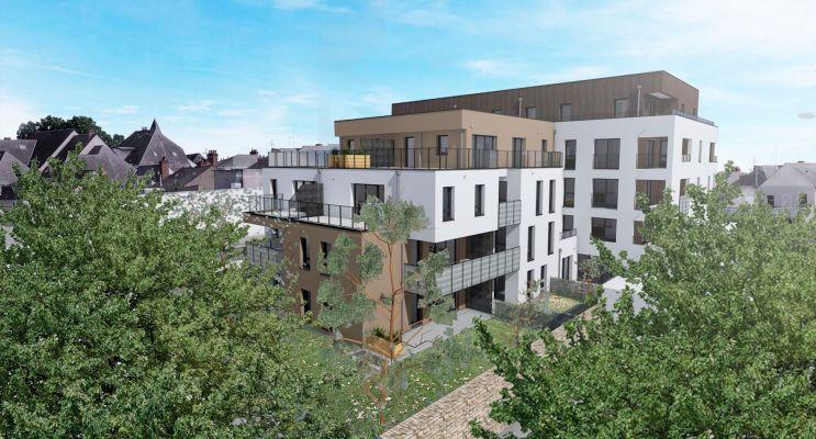Photo du Résidence « Jardin sur Cour » programme immobilier neuf en Loi Pinel à Angers