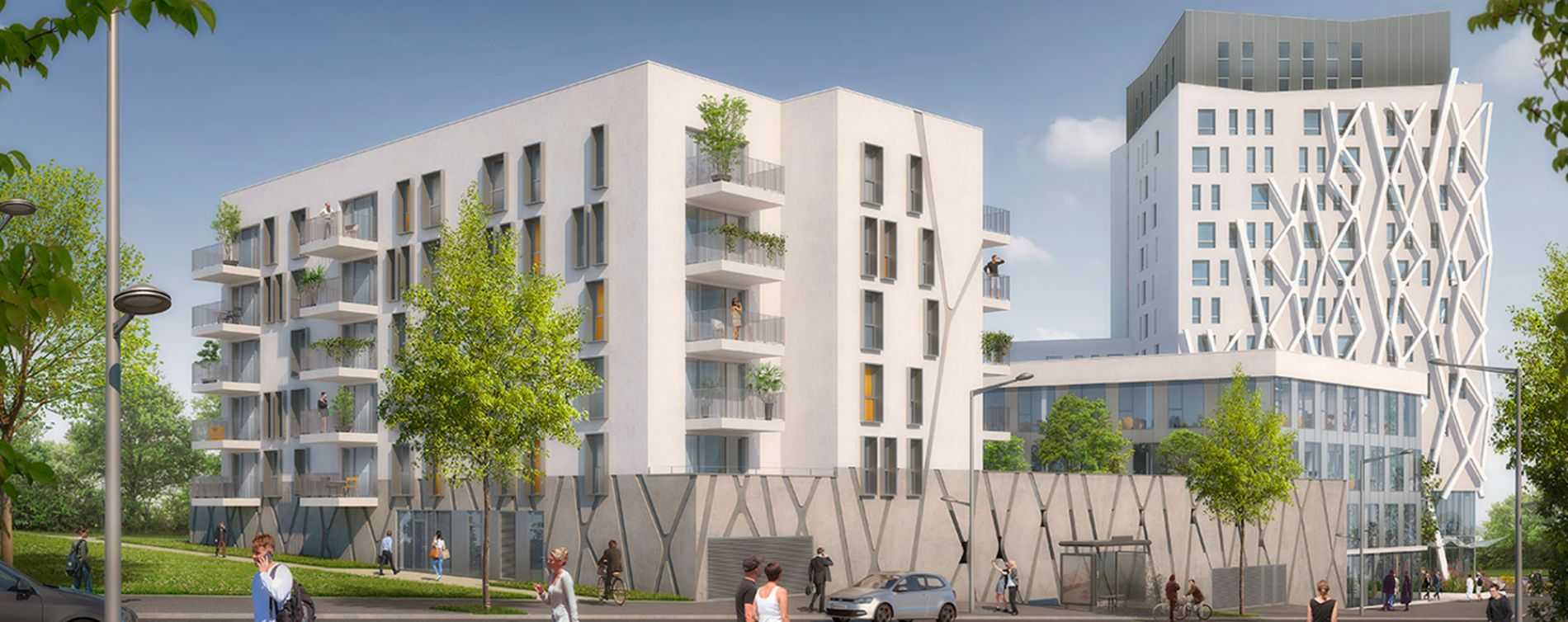 Angers : programme immobilier neuve « Joseph Mercier »