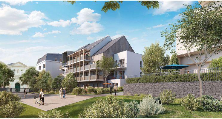 Photo du Résidence « L'Aumônerie » programme immobilier neuf en Loi Pinel à Angers