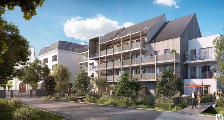 Résidence « L'Aumônerie » programme immobilier neuf en Loi Pinel à Angers n°2