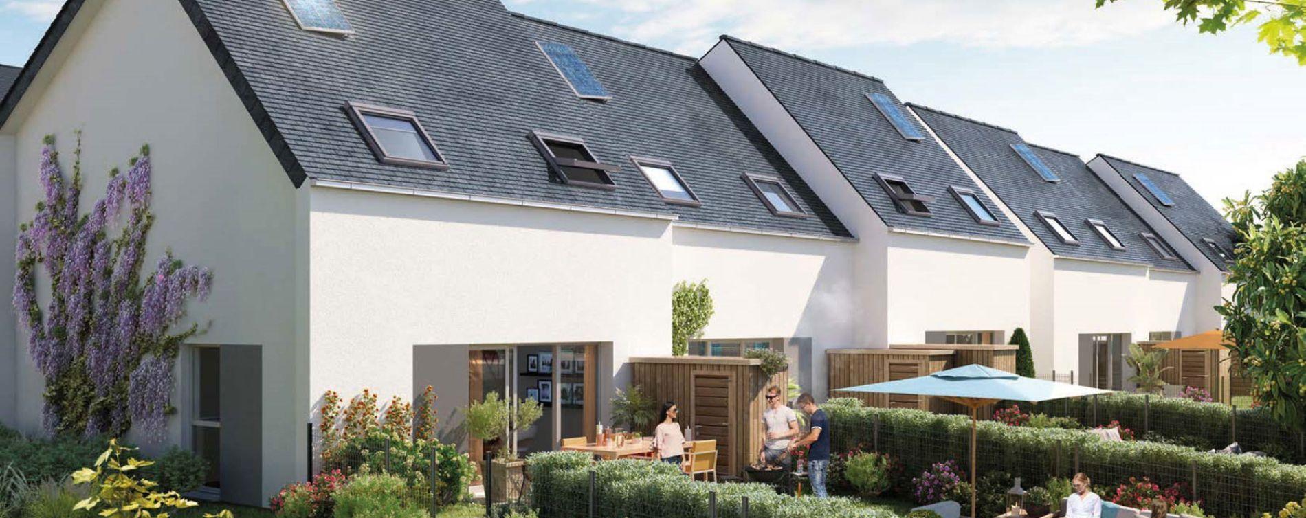 Angers : programme immobilier neuve « Le Clos des Noyers » en Loi Pinel