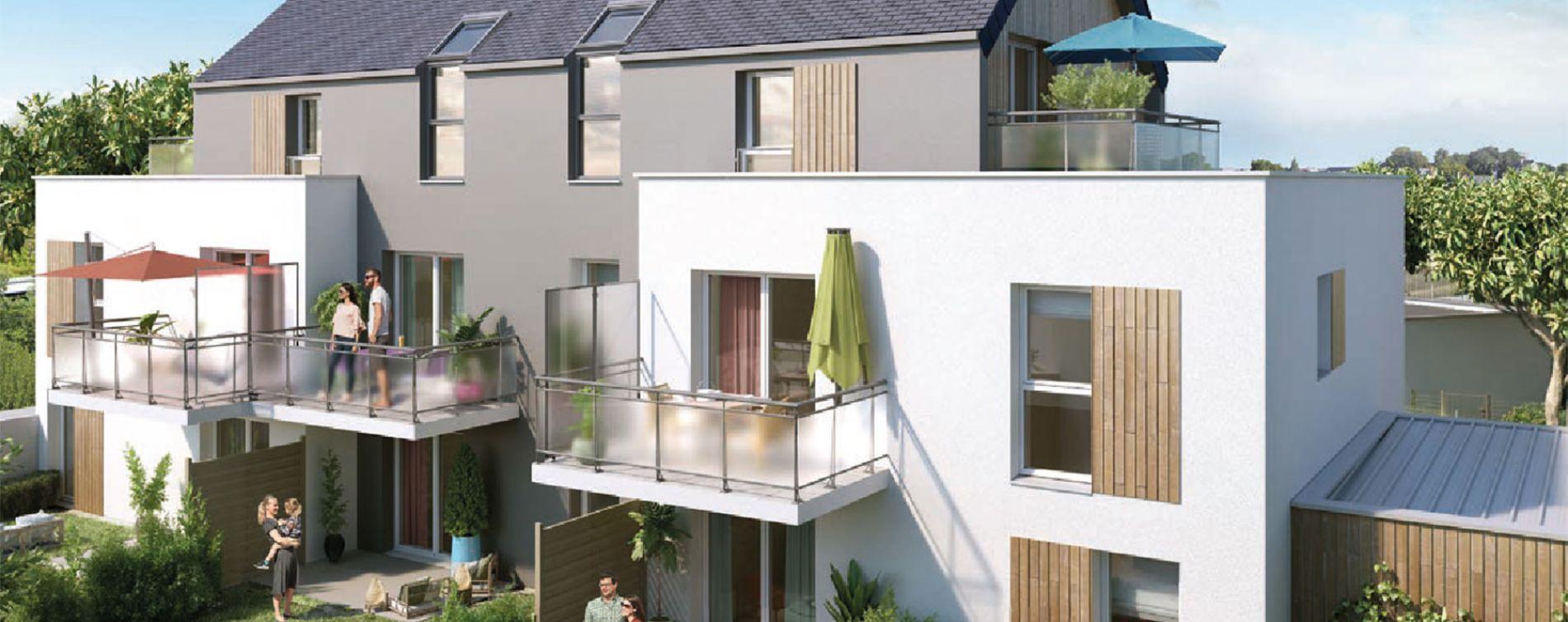 Angers : programme immobilier neuve « Le Clos des Noyers » en Loi Pinel (2)