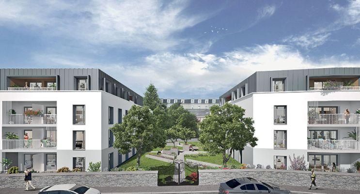 Résidence « Le Clos Saint Martin » programme immobilier neuf en Loi Pinel à Angers n°2