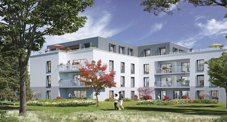 Résidence « Le Clos Saint Martin » programme immobilier neuf en Loi Pinel à Angers n°3