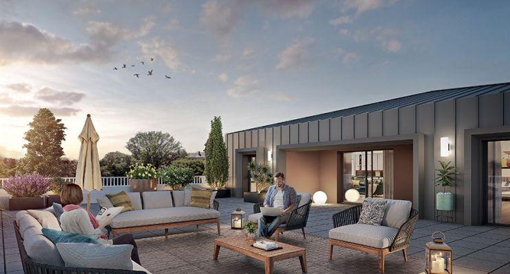 Résidence « Le Clos Saint Martin » programme immobilier neuf en Loi Pinel à Angers n°4