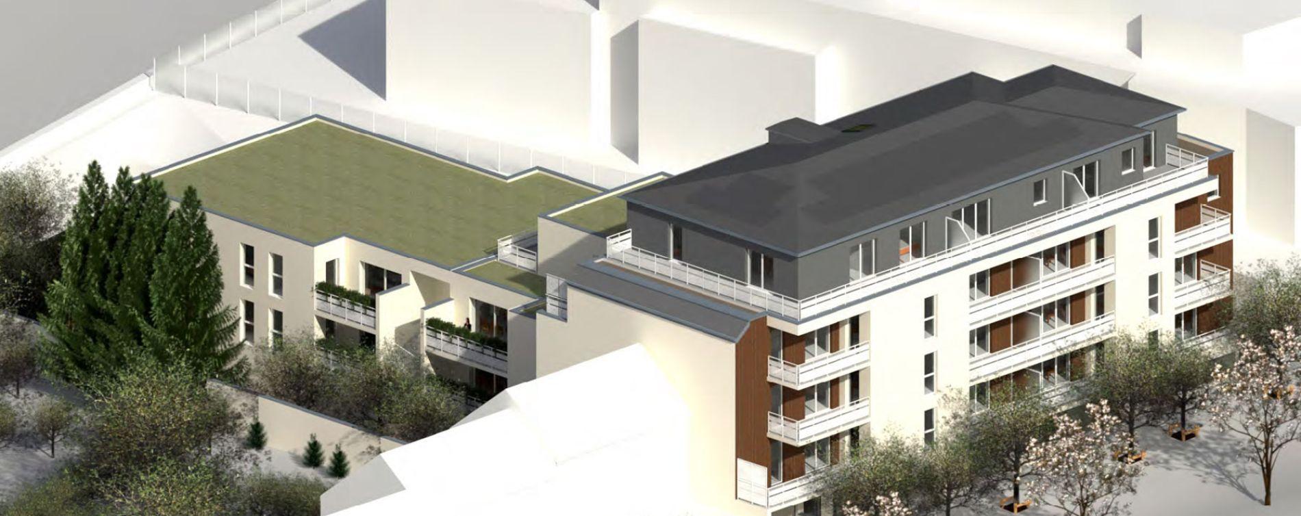 Angers : programme immobilier neuve « Le Moringa » en Loi Pinel